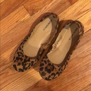 MOSSIMO Leopard Ballet Flats